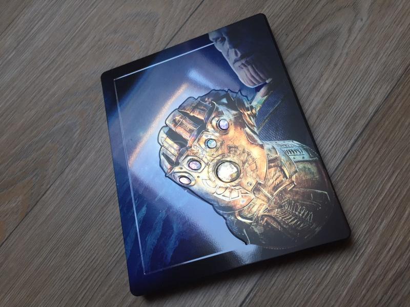 AVENGERS: INFINITY WAR 3D + 2D Steelbook™ Limited Collector's