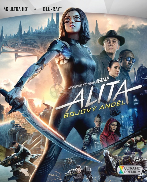 ALITA: BATTLE ANGEL (4K Ultra HD + Blu-ray)