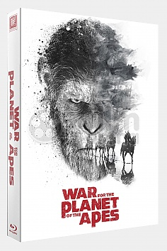 FAC #95 WAR FOR THE PLANET OF THE APES FULLSLIP XL Edition #3 3D + 2D Steelbook™ Limited Collector's Edition - numbered