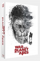 FAC #95 WAR FOR THE PLANET OF THE APES FULLSLIP XL Edition #3 4K Ultra HD 3D + 2D Steelbook™ Limited Collector's Edition - numbered (Blu-ray 3D + 2 Blu-ray)