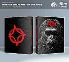 FAC #95 WAR FOR THE PLANET OF THE APES LENTICULAR 3D FULLSLIP Edition #2 3D + 2D Steelbook™ Limited Collector's Edition - numbered
