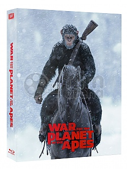 FAC #95 WAR FOR THE PLANET OF THE APES FULLSLIP + LENTICULAR 3D MAGNET Edition #1 3D + 2D Steelbook™ Limited Collector's Edition - numbered