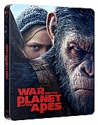 FAC #95 WAR FOR THE PLANET OF THE APES + Lenticular 3D Magnet WEA Exclusive unnumbered EDITION #5A 3D + 2D Steelbook™ Limited Collector's Edition (4K Ultra HD + Blu-ray 3D + Blu-ray)