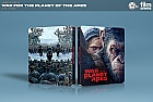 FAC #95 WAR FOR THE PLANET OF THE APES + Lenticular 3D Magnet WEA Exclusive unnumbered EDITION #5B 3D + 2D Steelbook™ Limited Collector's Edition