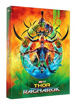 FAC *** THOR: Ragnarok FullSlip + Lenticular Magnet EDITION #1 3D + 2D Steelbook™ Limited Collector's Edition - numbered