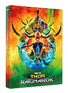 FAC #112 THOR: Ragnarok FullSlip + Lenticular Magnet EDITION #1 3D + 2D Steelbook™ Limited Collector's Edition - numbered (Blu-ray 3D + Blu-ray)