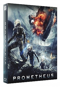 FAC #103 PROMETHEUS Double Lenticular 3D FullSlip XL EDITION #2 3D + 2D Steelbook™ Limited Collector's Edition - numbered