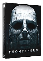 FAC #103 PROMETHEUS XL FullSlip 3D EMBOSSED EDITION #3 3D + 2D Steelbook™ Limited Collector's Edition - numbered (Blu-ray 3D + 2 Blu-ray)