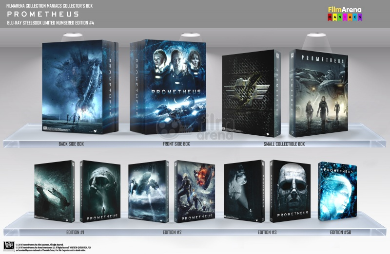 FAC #103 PROMETHEUS MANIACS COLLECTOR'S BOX EDITION #4 3D + 2D