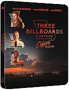 THREE BILLBOARDS OUTSIDE EBBING, MISSOURI Steelbook™ Limited Collector's Edition + Gift Steelbook's™ foil (Blu-ray)