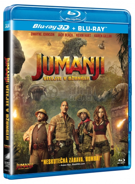 jumanji welcome to the jungle blu ray extras