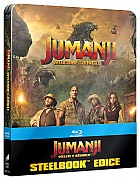 JUMANJI: WELCOME TO THE JUNGLE (Title on Front Side and Spine - US Version) 3D + 2D Steelbook™ Limited Collector's Edition + Gift Steelbook's™ foil (Blu-ray 3D + Blu-ray)