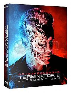 FAC #110 TERMINATOR 2: Judgment Day Double Lenticular 3D FullSlip XL EDITION #2 3D + 2D Steelbook™ Extended director's cut Digitally restored version Limited Collector's Edition - numbered