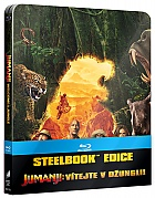JUMANJI: WELCOME TO THE JUNGLE (Title on Spine) INTERNATIONAL Version Steelbook™ Limited Collector's Edition (Blu-ray)