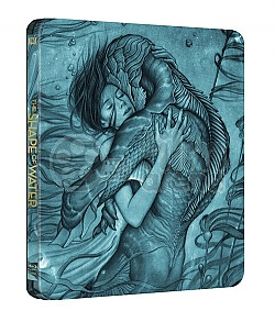 THE SHAPE OF WATER Steelbook™ Limited Collector's Edition + Gift Steelbook's™ foil