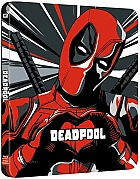 DEADPOOL (New Visual) Steelbook™ Limited Collector's Edition + Gift Steelbook's™ foil (Blu-ray)