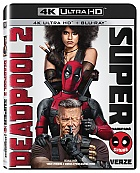 DEADPOOL 2 Super Duper Cut 4K Ultra HD Extended cut (4 Blu-ray)