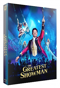 FAC #97 THE GREATEST SHOWMAN XL FullSlip + Lenticular 3D Magnet Steelbook™ Limited Collector's Edition - numbered