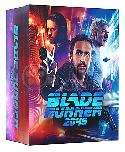 FAC #101 BLADE RUNNER 2049 MANIACS Collector's BOX (including Editions E1 + E2 + E3 + E5B) EDITION #4 WEA Exclusive 4K Ultra HD 3D + 2D Steelbook™ Limited Collector's Edition - numbered