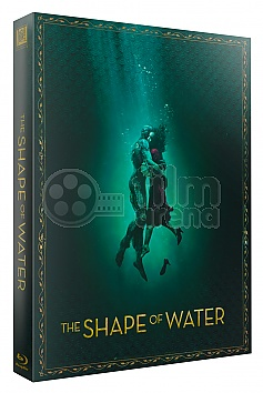 FAC #102 THE SHAPE OF WATER FullSlip XL + 3D Lenticular Magnet Steelbook™ Limited Collector's Edition - numbered