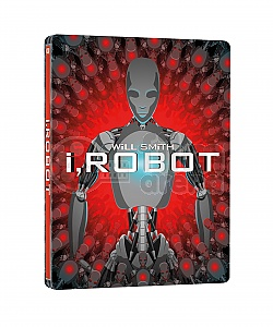 I, ROBOT 3D + 2D Steelbook™ Limited Collector's Edition + Gift Steelbook's™ foil