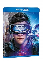 READY PLAYER ONE: HRA ZAČÍNÁ 3D + 2D (Blu-ray 3D + Blu-ray)