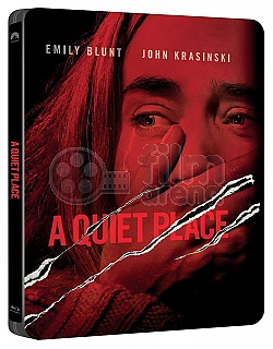 A QUIET PLACE 4K Ultra HD Steelbook™ Limited Collector's Edition + Gift Steelbook's™ foil
