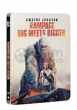 RAMPAGE 3D + 2D Steelbook™ Limited Collector's Edition + Gift Steelbook's™ foil
