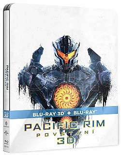 PACIFIC RIM: UPRISING 3D + 2D Steelbook™ Limited Collector's Edition + Gift Steelbook's™ foil