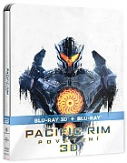 PACIFIC RIM: UPRISING 3D + 2D Steelbook™ Limited Collector's Edition + Gift Steelbook's™ foil (Blu-ray 3D + Blu-ray)