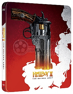 HELLBOY II: The Golden Army Steelbook™ Limited Collector's Edition + Gift Steelbook's™ foil
