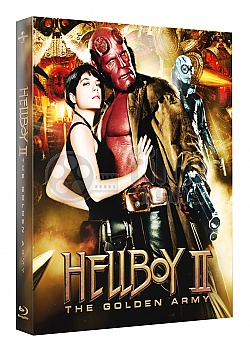 FAC #105 HELLBOY II: The Golden Army  FULLSLIP + LENTICULAR MAGNET Steelbook™ Limited Collector's Edition - numbered