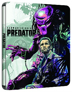 PREDATOR WWA Generic 4K Ultra HD 3D + 2D Steelbook™ Limited Collector's Edition + Gift Steelbook's™ foil
