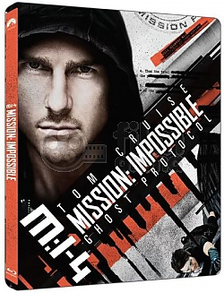 Mission Impossible IV: Ghost Protocol 4K Ultra HD Steelbook™ Limited Collector's Edition + Gift Steelbook's™ foil
