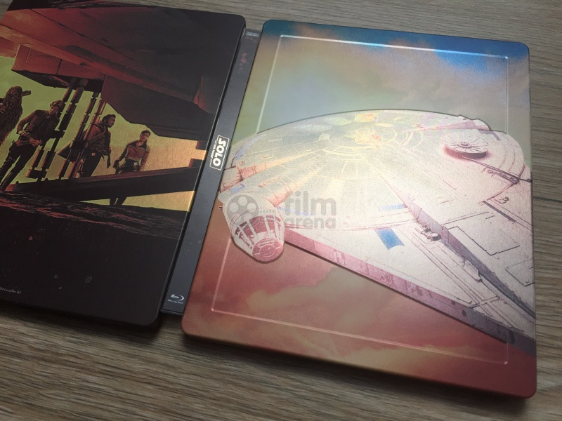 ce199b5db SOLO: A Star Wars Story 3D + 2D Steelbook™ Limited Collector's Edition +  Gift Steelbook's™ foil (Blu-ray 3D + 2 Blu-ray)