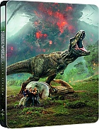 JURRASIC WORLD: FALLEN KINGDOM (SteelBook Version 2) 3D + 2D Steelbook™ Limited Collector's Edition (Blu-ray 3D + Blu-ray + DVD)