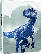 JURRASIC WORLD: FALLEN KINGDOM (SteelBook Version 1 - Blue Indoraptor) 3D + 2D Steelbook™ Limited Collector's Edition (4K Ultra HD + Blu-ray 3D + Blu-ray)