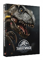 FAC #106 JURASSIC WORLD: FALLEN KINGDOM (SteelBook Version 1 - Blue Indoraptor) FullSlip + Lenticular Magnet EDITION #1 4K Ultra HD Steelbook™ Limited Collector's Edition - numbered (2 Blu-ray + DVD)