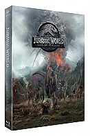 FAC #106 JURASSIC WORLD: FALLEN KINGDOM (SteelBook Version 2 - T-REX) Lenticular 3D FullSlip EDITION #2 3D + 2D Steelbook™ Limited Collector's Edition - numbered (Blu-ray 3D + Blu-ray + DVD)
