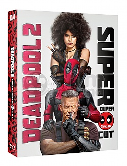 DEADPOOL 2 FullSlip + Scanavo Case + Book SUPER DUPER CUT Extended cut Limited Collector's Edition