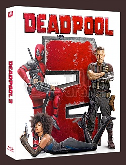 FAC #107 DEADPOOL 2 FullSlip + Lenticular Magnet EDITION #1 WEA EXCLUSIVE Steelbook™ Limited Collector's Edition - numbered