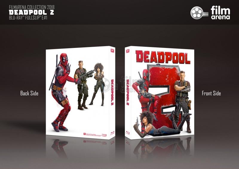Fac 107 Deadpool 2 Fullslip Lenticular Magnet Edition 1 Wea