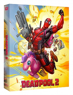 FAC #107 DEADPOOL 2 Lenticular 3D FullSlip EDITION #2 WEA EXCLUSIVE Steelbook™ Limited Collector's Edition - numbered