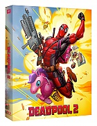 FAC #107 DEADPOOL 2 Lenticular 3D FullSlip EDITION #2 WEA EXCLUSIVE Steelbook™ Limited Collector's Edition - numbered (2 Blu-ray)