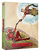 FAC #107 DEADPOOL 2 Double Lenticular 3D (Front and Back) FullSlip XL EDITION #3 WEA EXCLUSIVE 4K Ultra HD Steelbook™ Limited Collector's Edition - numbered (4 Blu-ray)