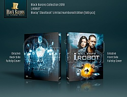 BLACK BARONS #15 I, ROBOT FullSlip 3D + 2D Steelbook™ Limited Collector's Edition - numbered