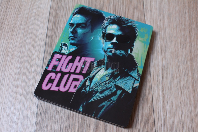 fight club blu ray  BLACK BARONS #16 FIGHT CLUB FullSlip Steelbook™ Limited Collector's ...