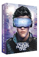 FAC #109 READY PLAYER ONE Lenticular 3D FullSlip XL 3D + 2D Steelbook™ Limited Collector's Edition - numbered + Gift Steelbook's™ foil (Blu-ray 3D + Blu-ray)