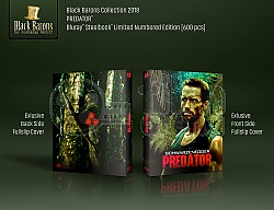 BLACK BARONS #17 PREDATOR FullSlip 3D + 2D Steelbook™ Limited Collector's Edition - numbered