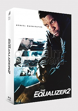 FAC #111 THE EQUALIZER 2 FullSlip + Lenticular Magnet EDITION #1 Steelbook™ Limited Collector's Edition - numbered